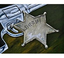 New Sheriff in Town  Photographic Print