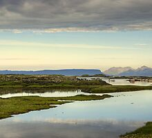 Eigg and Rum by Jamie  Green