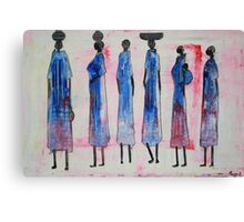 Swahili People Canvas Print
