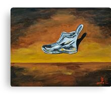 Old Shoe  Canvas Print