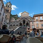 Amalfi Cathedral by Marylou Badeaux