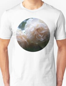 Icy White Rose Unisex T-Shirt