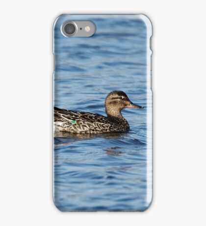 Green-Winged Teal Duck iPhone Case/Skin