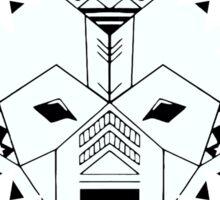 Snowflake BVRR Sticker