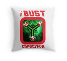 THE BUST CAPACITOR Throw Pillow