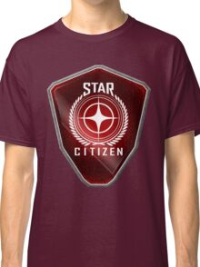 Star Citizen Logo - Red Classic T-Shirt
