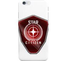 Star Citizen Logo - Red iPhone Case/Skin