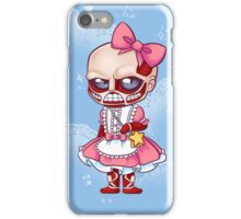Kawaii On Titan iPhone Case/Skin
