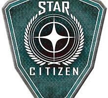 Star Citizen Logo - Green by Longdude100