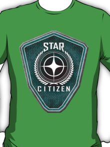 Star Citizen Logo - Green T-Shirt