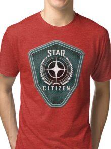 Star Citizen Logo - Green Tri-blend T-Shirt