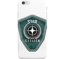Star Citizen Logo - Green iPhone Case/Skin