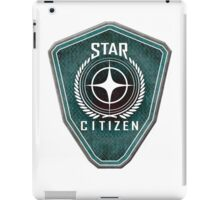 Star Citizen Logo - Green iPad Case/Skin