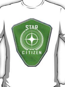 Star Citizen Logo - Lime Green T-Shirt