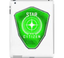 Star Citizen Logo - Lime Green iPad Case/Skin