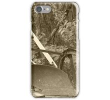 Antique One Share Plow iPhone Case/Skin