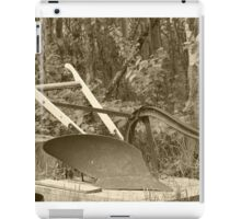 Antique One Share Plow iPad Case/Skin