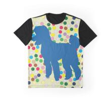 Poodles Dotted Oodles Graphic T-Shirt