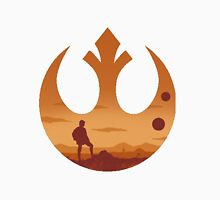 Star Wars - Rebel Alliance Logo II (Luke on Tatooine) Unisex T-Shirt