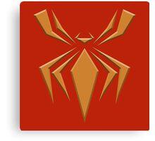 Fe Spider Logo Canvas Print