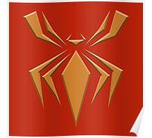 Fe Spider Logo Poster