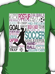 Words of football T-Shirt