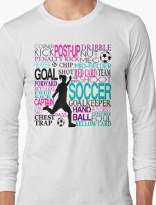 Words of football Long Sleeve T-Shirt