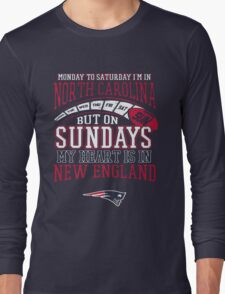 Monday to saturday i'm in... Long Sleeve T-Shirt