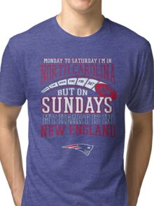 Monday to saturday i'm in... Tri-blend T-Shirt