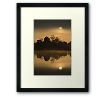 Moody Sunrise Framed Print