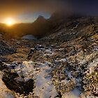 Cradle Mountain Dawning by Robert Mullner