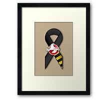 GB Tribute Ribbon Ver.2 (No Face) Khaki Framed Print