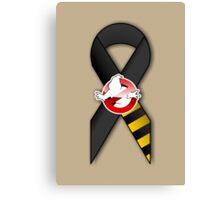 GB Tribute Ribbon Ver.2 (No Face) Khaki Canvas Print