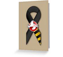 GB Tribute Ribbon Ver.2 (No Face) Khaki Greeting Card