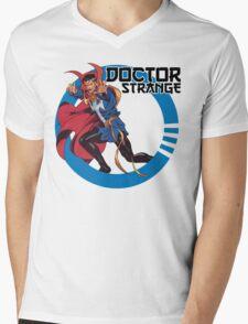 Doctor Strange •Circle Art Mens V-Neck T-Shirt