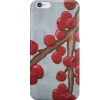 Cranberry Branch iPhone Case/Skin