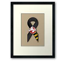 GB Tribute Ribbon Ver.2 (Face) Khaki Framed Print