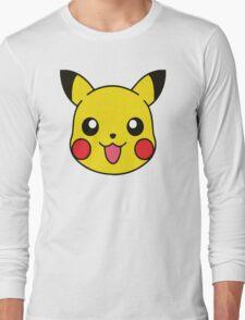 Pikachu Pattern Long Sleeve T-Shirt