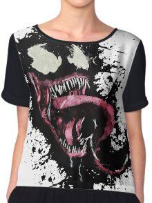 Venom •Splatter Chiffon Top