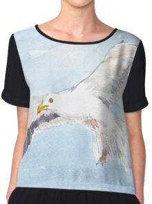 You ARE free... Chiffon Top