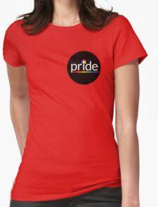 P R I D E    F L O W E R Womens Fitted T-Shirt