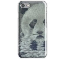 Panda in the Water iPhone Case/Skin