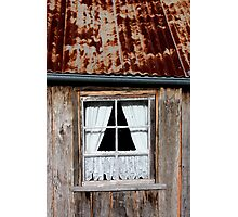 Tilted roof, Hill End.  Photographic Print