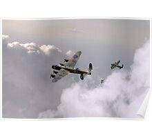 Lancasters Forming Up Poster