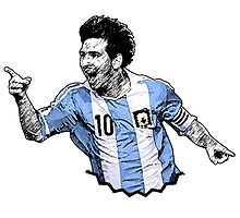 Messi Argentina by JoelCortez