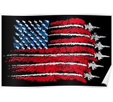 The flag of freedom Poster