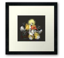 Armed Angel Framed Print