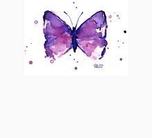 Butterfly Purple Watercolor Unisex T-Shirt