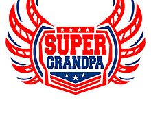 Super Grandpa coat of arms logo by Style-O-Mat