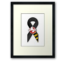 GB Tribute Ribbon Ver.2 (No Face) White Framed Print
